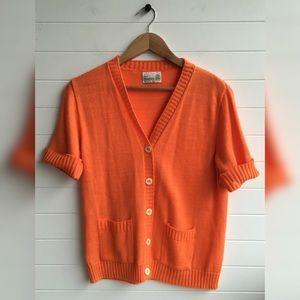 [Sears] Short Sleeve Vintage Pin-Up Rockabilly Top